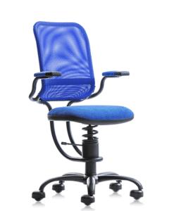 Ортопедическое кресло SpinaliS Ergonomic Blue