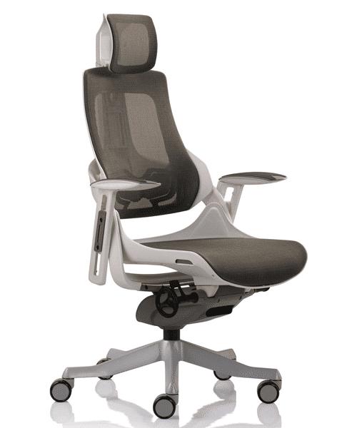 Кресло WAU white Charcoal