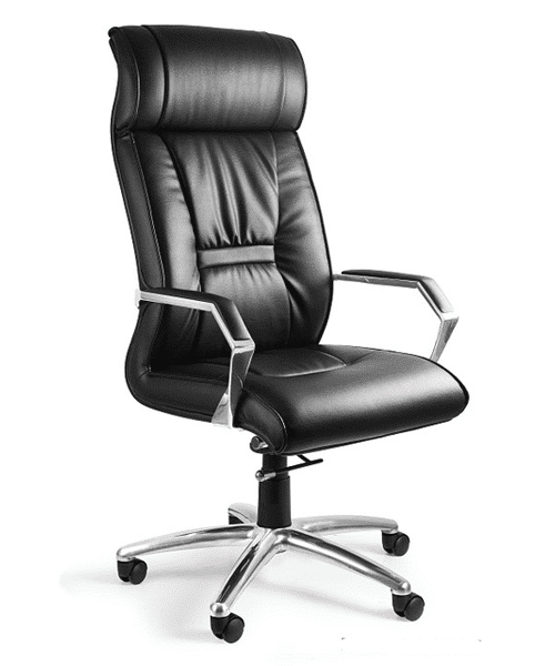 Кожаное офисное кресло UNIQUE Celio
