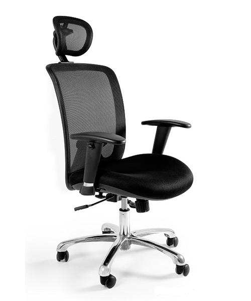 Эргономичное компьютерное кресло UNIQUE Expander black