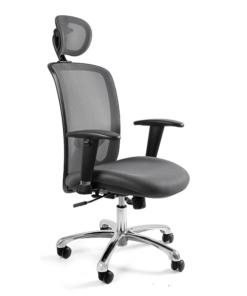 Зручне офісне крісло, Крісло офісне Unique Expander grey крісла офісні ергономічні