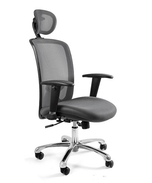 Удобное офисное кресло, Кресло офисное Unique Expander grey кресла офисные эргономичные