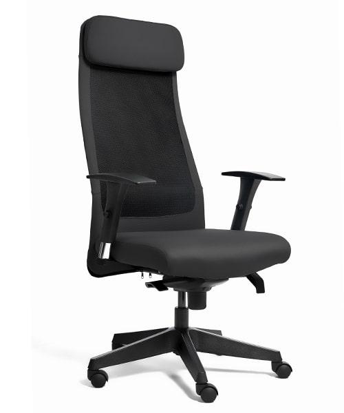 Офисное кресло Unique Ares Black