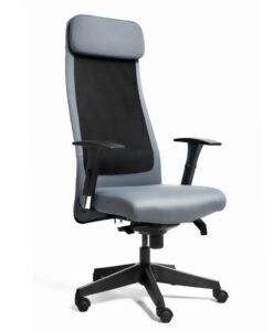 Офисное кресло UNIQUE Ares grey