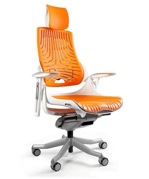 уникальное геймерское кресло MERRYFAIR WAU WAU white Elastomer Mango, Уникальное геймерское кресло