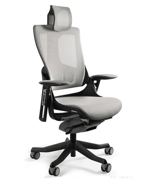 Кресло Merryfair WAU2 black NW-Grey, удобные офисные кресла