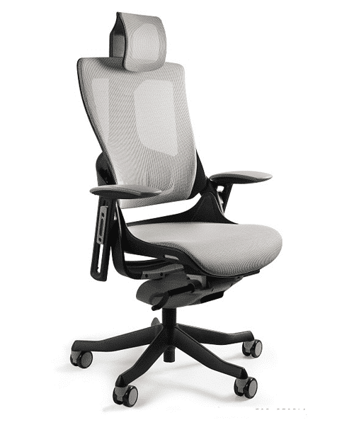 Крісло Merryfair WAU2 black NW-Grey, зручні офісні крісла