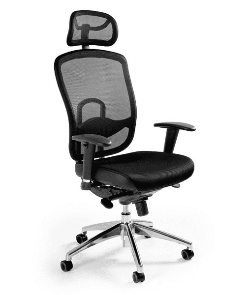 офисное кресло Unique VIP black