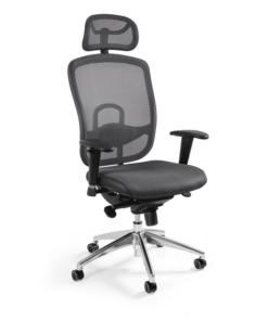 Ергономічне офісне крісло UNIQUE VIP крісло комп'ютерне vip офісне крісло віп