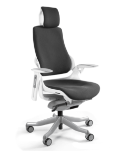 Офісне крісло MERRYFAIR WAU white BL-Black, Ергономічне крісло MERRYFAIR