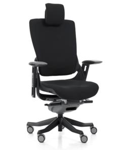 комп'ютерне ергономічне крісло MERRYFAIR WAU2 black merryfair wau