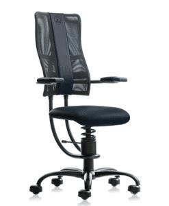 кресло SpinaliS HACKER blue, ортопедическое компьютерное кресло