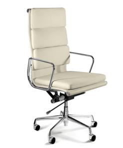 Шкіряне офісне крісло UNIQUE WYE beige, крісло UNIQUE WYE