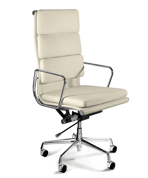 Кожаное офисное кресло UNIQUE WYE beige, кресло UNIQUE WYE