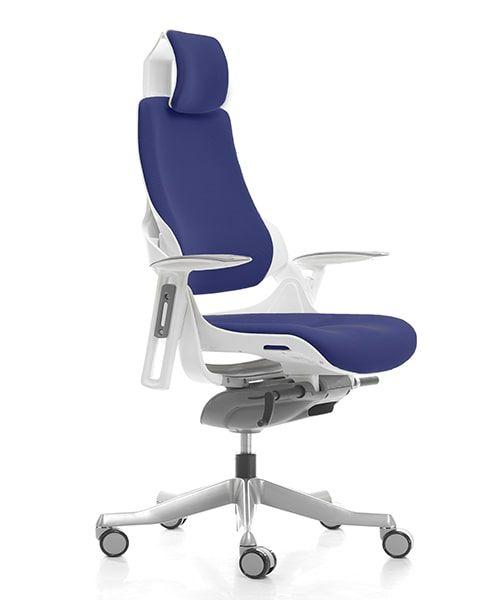 кресло MERRYFAIR WAU white BL-Navy blue