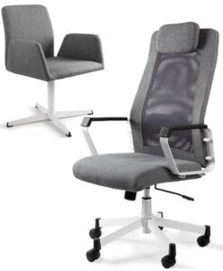 кресла для кабинета UNIQUE FOX Grey