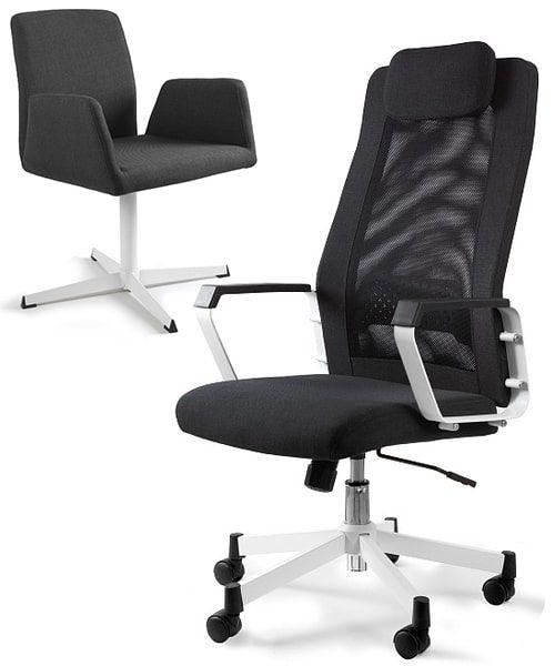 кресла для кабинета UNIQUE FOX Black
