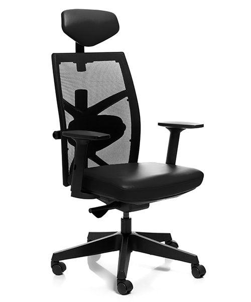 крісло MERRYFAIR TUNE Leather Black