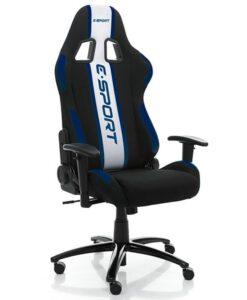 геймерское компьютерное кресло E-SPORT blue