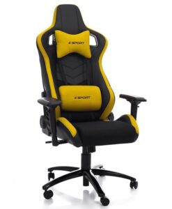 кресло E-SPORT DYNAMIC Yellow