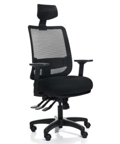 Эргономичное Компьютерное Кресло SAGA+ BL-418